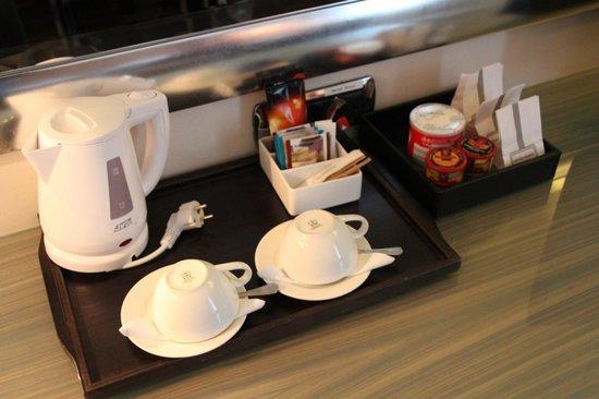 Starhotels Anderson: Coffee/Tea and Snacks