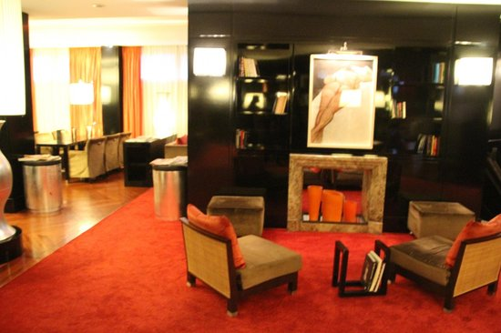 Starhotels Anderson: Part of Lobby
