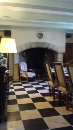 Maison d'hotes Redon : La cheminée