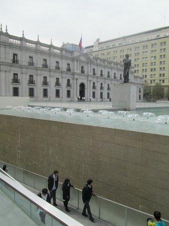 Centro Cultural Palacio de la Moneda y Plaza de la Ciudadaña : entrada