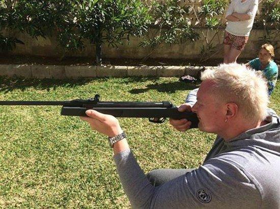 ClubHotel Riu Costa del Sol : Shooting