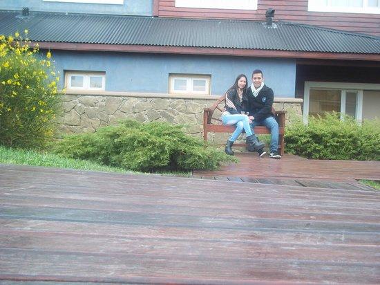 Alto Calafate Hotel Patagonico: entrada al spa