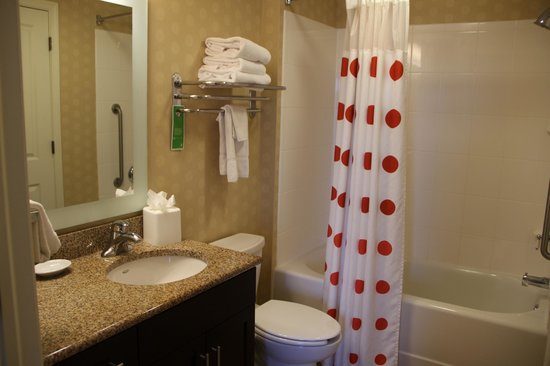 TownePlace Suites Arundel Mills BWI Airport : Clean bathroom