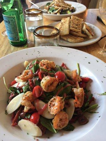 Oliva Kitchen & Bar: Our salads at Oliva