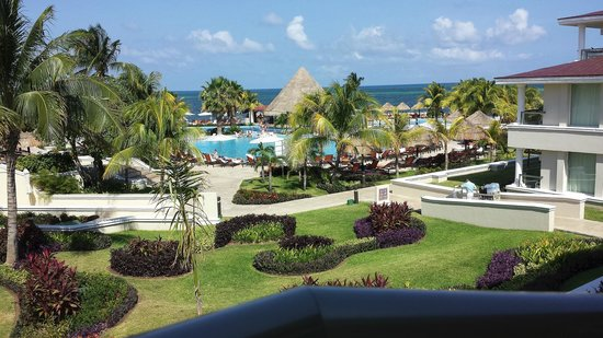 Moon Palace Cancun: Our beautiful view everyday!