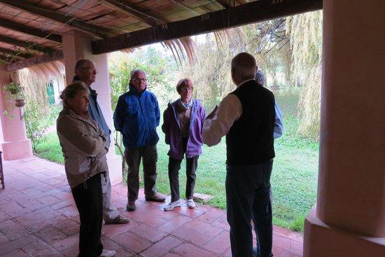 Posada Inti Watana : Juan nous explique la signification du nom INTI WATANA