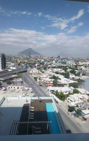 Fiesta Inn Monterrey Tecnologico: Hotel Fiesta Inn Room View