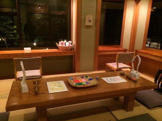Okunoin Hotel Tokugawa: Room where breakfast is served