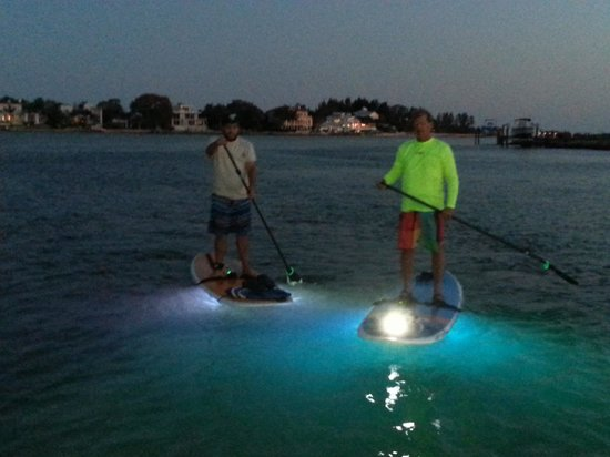 Sarasota Paddleboard Company : night paddle fun