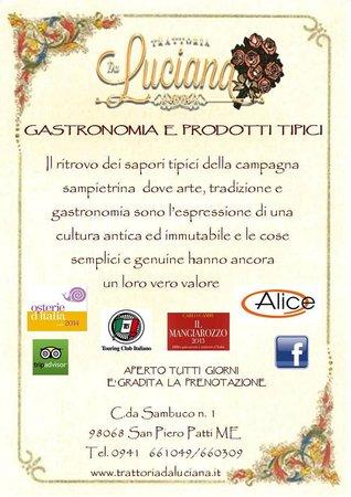 San Piero Patti, Itálie: Il nostro motto ed i nostri partners