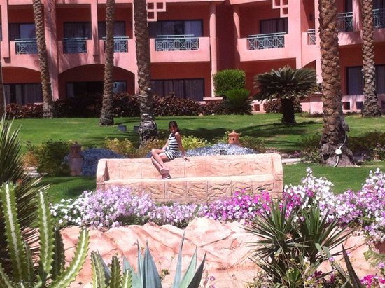 Park Inn by Radisson Sharm El Sheikh Resort: Our room from a distance view