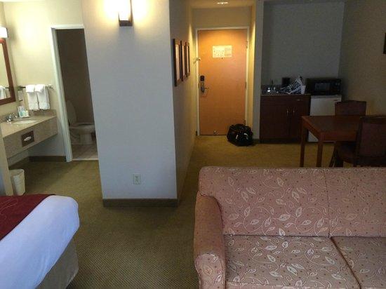 Comfort Suites Arena: Room layout