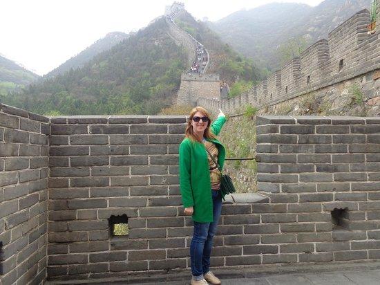 Gran Muralla China en Mutianyu: стена!