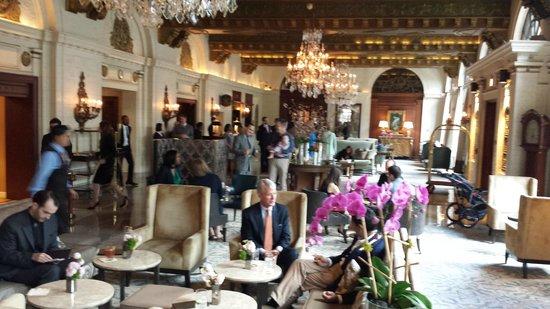 The St. Regis Washington, D.C.: The elegant lobby