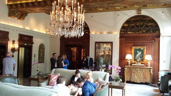 The St. Regis Washington, D.C.: The lobby