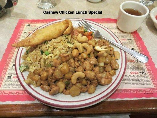 House of Hunan: Cashew Chicken