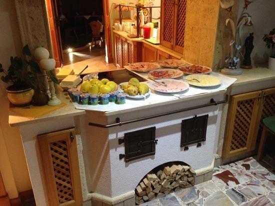 Hotel Chalet al Foss: la colazione....