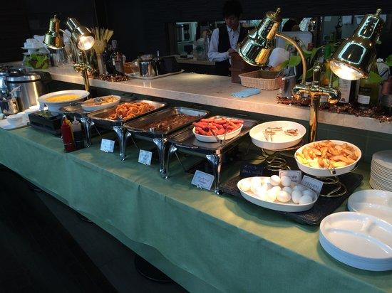 Citadines Central Shinjuku Tokyo: Breakfast buffet