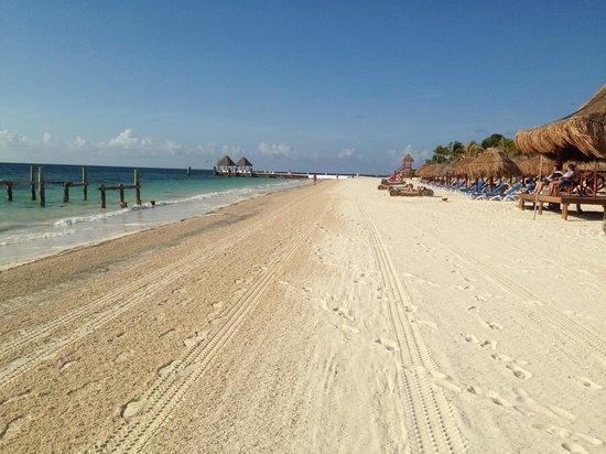 Excellence Riviera Cancun : Clean Beach