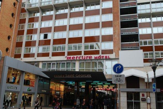 Mercure Toulouse Centre Saint-Georges : Hotel location