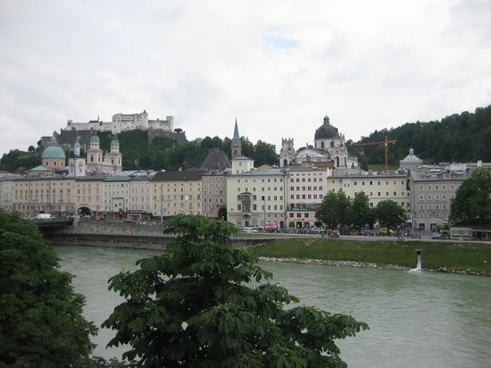 Hotel Sacher Salzburg : The view from the suites overlooking the river.