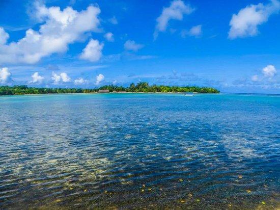 Warwick Le Lagon - Vanuatu: Lagoon. View from resort garden