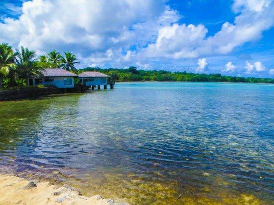 Warwick Le Lagon Resort & Spa, Vanuatu : Lagoon. View from resort garden