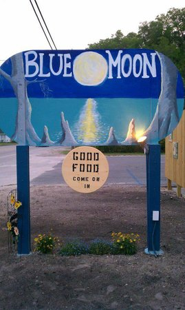 Blue Moon High Springs : Highway sign