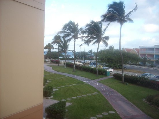 La Cabana Beach Resort & Casino: View from our room 2nd floor