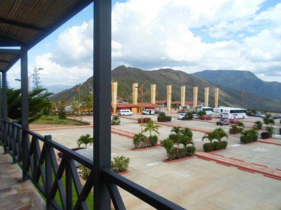 Parque Nacional de Chicamocha: Entrada al parque por la via Los Santos