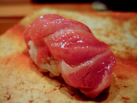 O-toro at Sushi Kanesaka