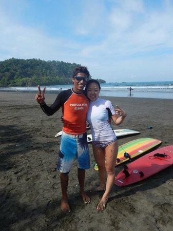 Tortuga Surf School: Pura vida!!