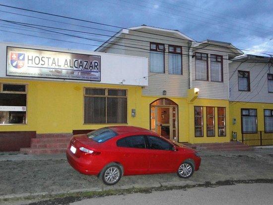 Hotel Alcazar, como Puerto Natales, simples e excepcional.