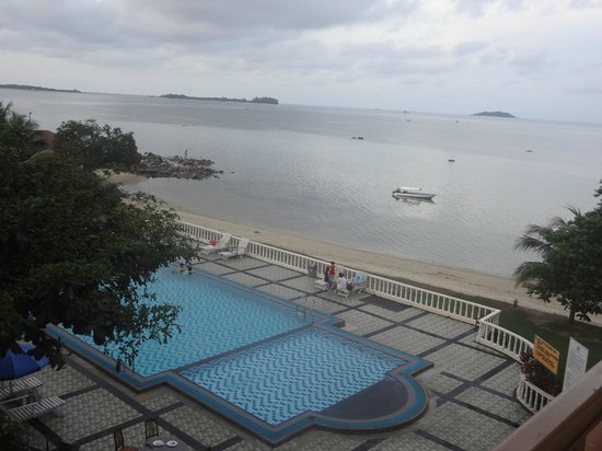 Bintan Agro Beach Resort : view from our terrace