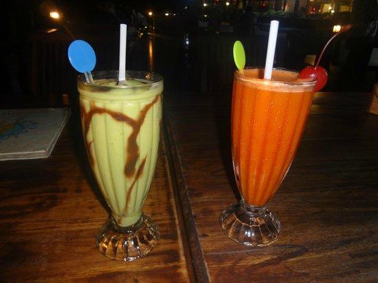 Bintan Agro Beach Resort : Avocado and carrot shake