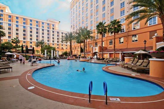Wyndham Grand Desert : Family pool seperate from adult pool