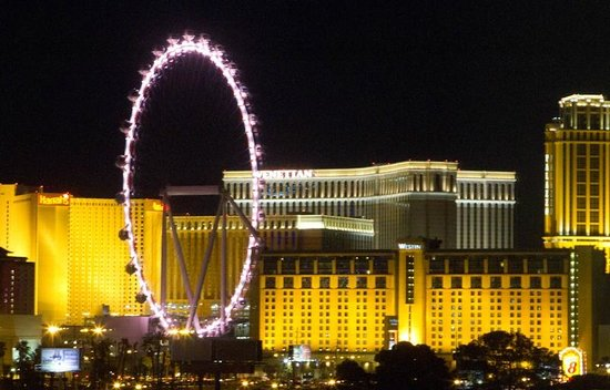 "Wyndham Grand Desert : Great view of the ""High Roller"" from the 6th floor"