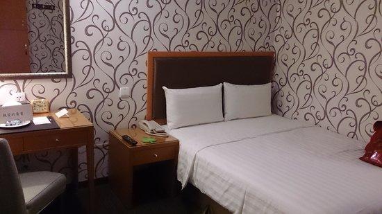 Fuward Hotel Tainan: 床鋪