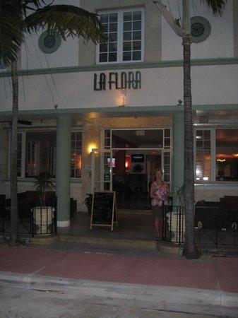 La Flora: Front Entrance