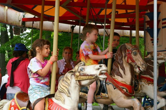 Midway State Park: Carousel.