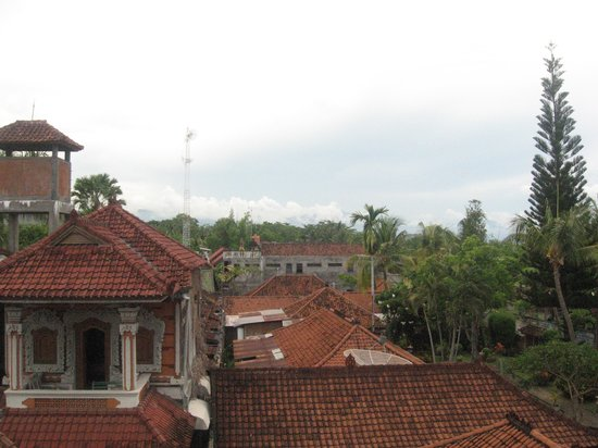 Hotel Angsoka: View from the upper floor