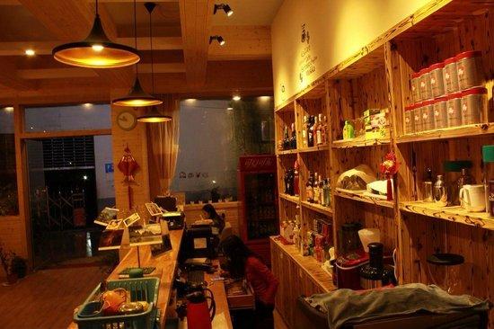 T-Zone Hostel: Bar & Reception