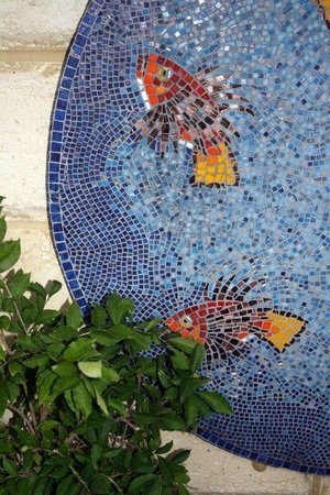 Sorrento Beach Bed & Breakfast : mosaic in alfresco