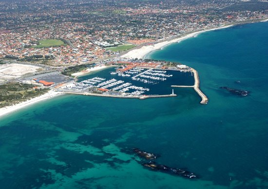 Sorrento Beach Bed & Breakfast : aerial view Hillarys Marina