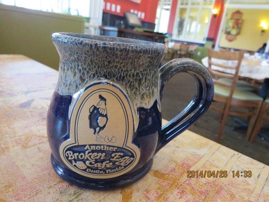 Another Broken Egg Cafe: Hand made coffee mug