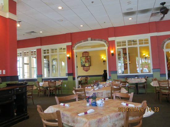 Another Broken Egg Cafe: Inside restaurant