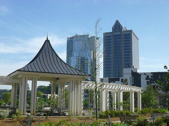 Romare Bearden Park: View from the park