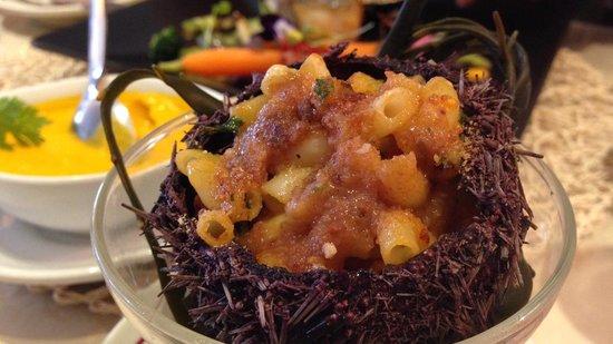 L'Odeon: Sea Urchin Roe Pasta