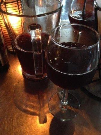 Maya Grill: sangria....er, tequila?