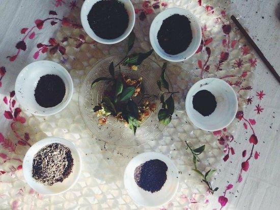 Happy Valley Tea Estate: Tea sampling